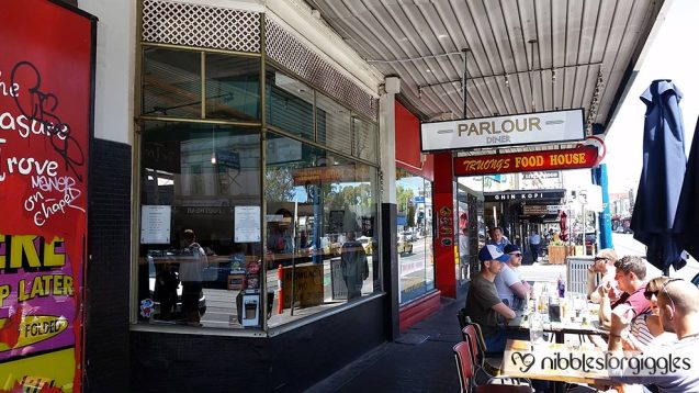 Parlour Diner exterior