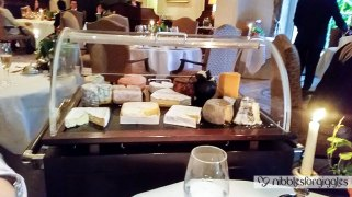 Selection of British and Continental farmhouse cheeses